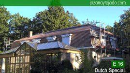Rastrelado para colocación de pizarra natural E16 Dutch Special. Leien dak plaatsen België..