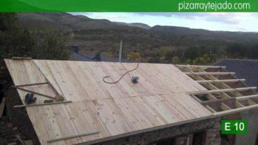 Construcción de tejados y cubiertas en el Bierzo. Estructura madera Bierzo y cubiertas Bierzo.