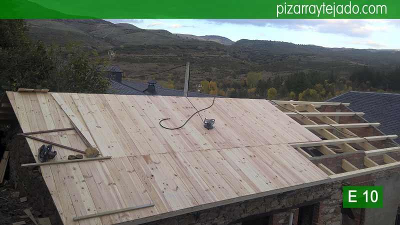 construcci n de tejados y cubiertas en el bierzo