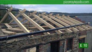 Experiencia en construcción de cubiertas de madera en El Bierzo. Construcción cubierta Bierzo.