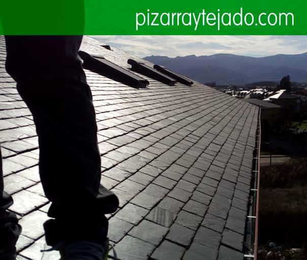 Pizarra para tejado remates de tejado de pizarra - Tejado de pizarra ...