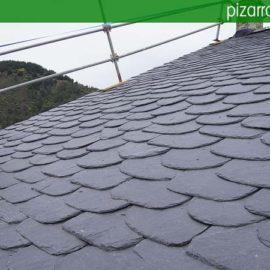 Presupuesto para colocacion de pizarra en tejado.