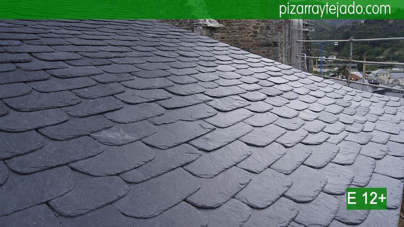Solicite presupuestos tejado pizarra. Colocación de pizarra natural.