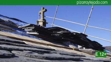 Pizarra de León color negro Bierzo. Preciosa pizarra para cubiertas y tejados. Teja pizarra negra.