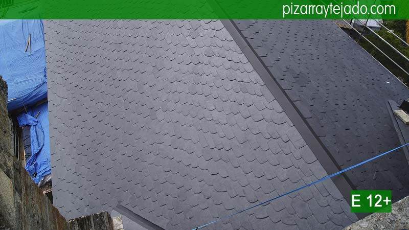 Colocaci n pizarra tejado y cubierta expertos pizarristas for Tejados de madera vista
