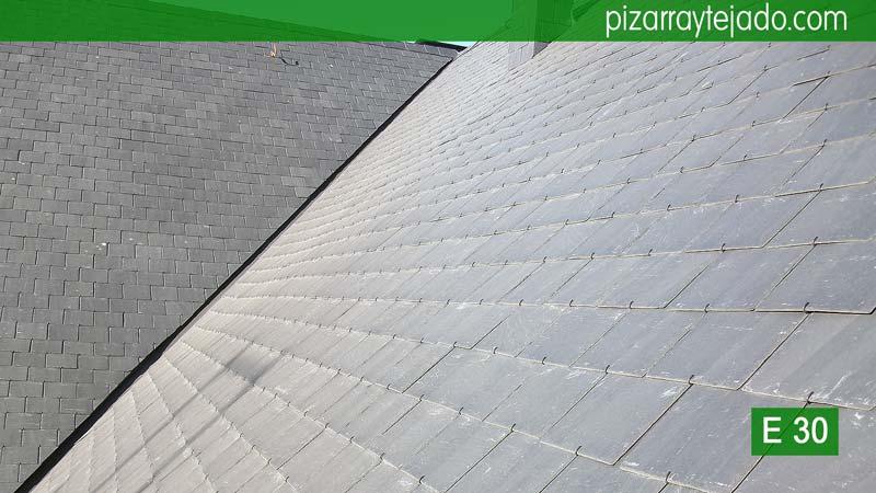 Restauraci n de madera y de pizarra en cubierta tejado for Restauracion tejados de madera