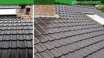 Ejecución de un precioso tejado en Turnhout (Bélgica). Teja vitrificada.