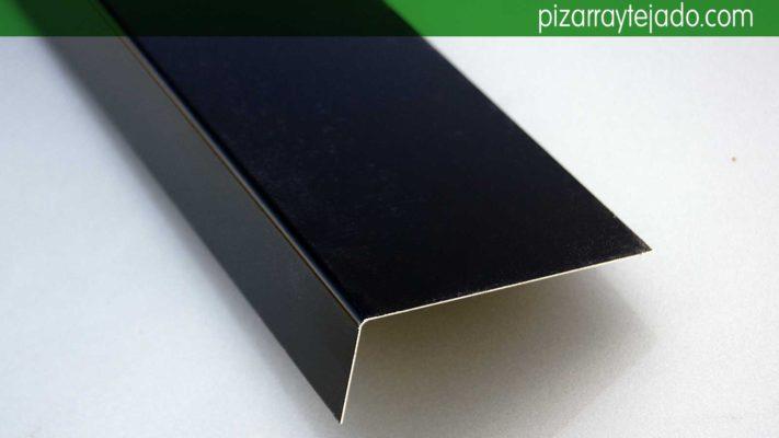 Aluminio plegado para cubiertas de pizarra. Aluminio pizarra.