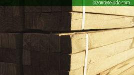 Rastreles de madera tratada para cubiertas de pizarra. Rastrel pizarra.