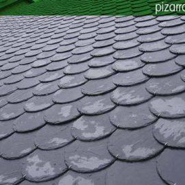 Colocar pizarra tejado