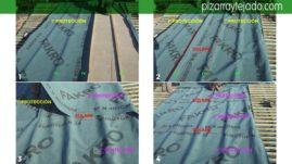 Instalación doble membrana en tejado de pizarra.