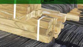 Precio rastrel de madera para pizarra. Colocación de rastrel de madera en tejado de pizarra.