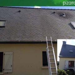 Cómo limpiar tejado de pizarra.