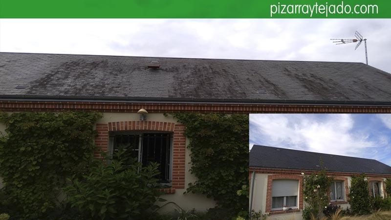 Cómo quitar óxido de la pizarra de tejado.